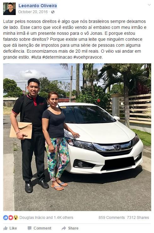 guia de isenção para compra de carros pdf