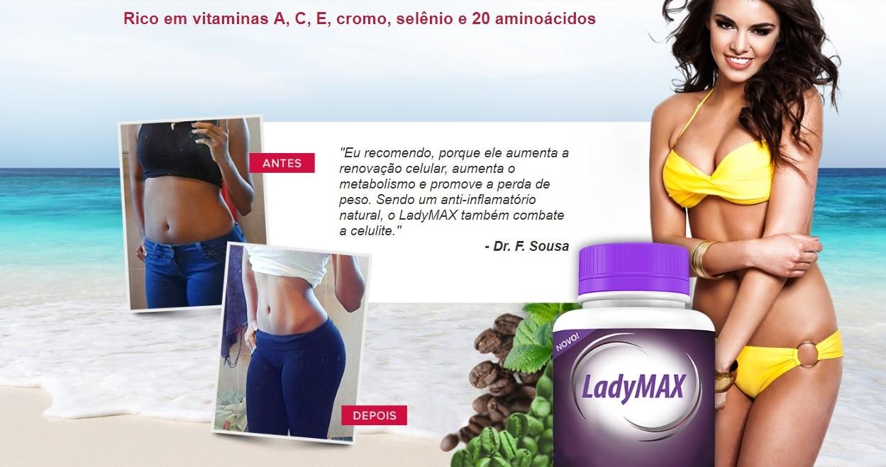 Como emagrecer o abdomen com Ladymax