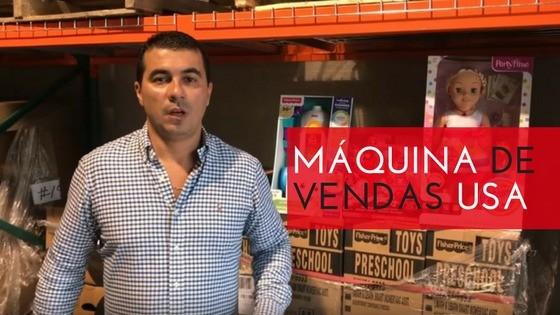 Maquina de Vendas Luis Miranda USA