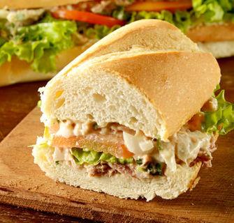 Receita Sanduíche de Atum na Baguete